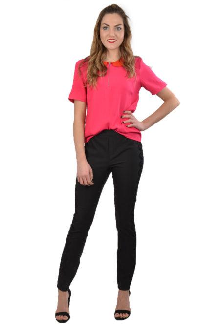 Alix woven stretch pants black