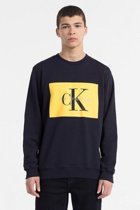 Calvin klein hotoro regular fit sweater night sky