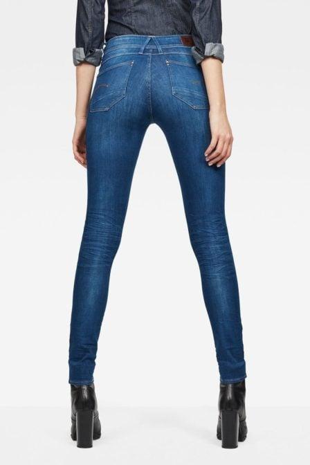 G-star lynn mid-waist skinny jeans