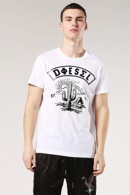 Diesel t-diego sm t-shirt white