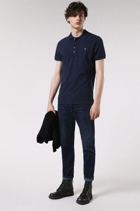 Diesel t-heal polo blue