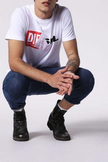 Diesel t-diego qa t-shirt white