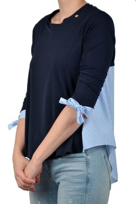 Rinascimento t-shirt azzurro