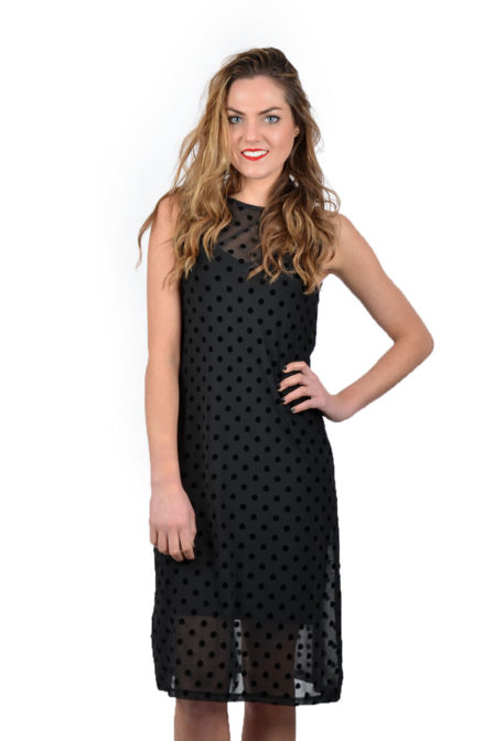 Catwalk junkie dr spicy polka dress black