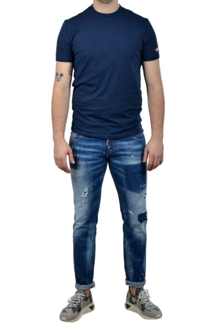 Dsquared2 t-shirt blue