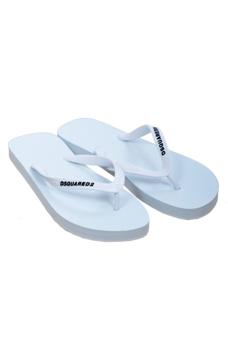 Dsquared2 slippers white
