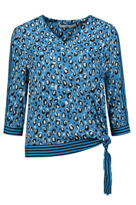 Aaiko mardi stripe blouse divine blue