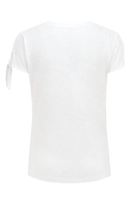 Aaiko rebelle shirt crispy white
