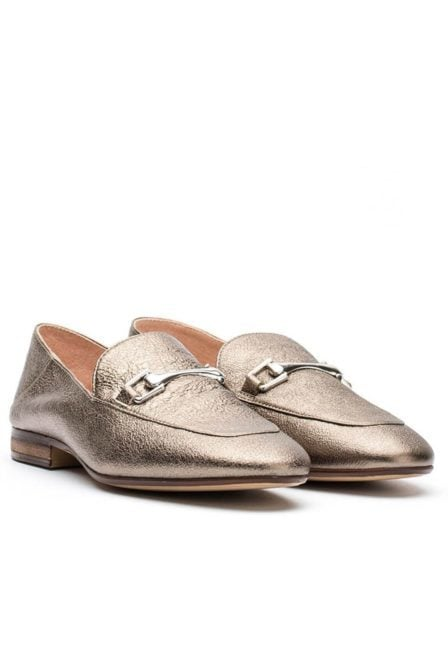 Unisa metallic loafer