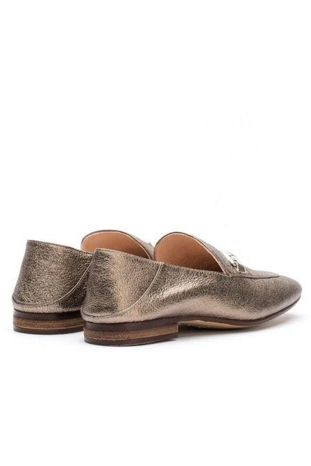 Unisa metallic loafer