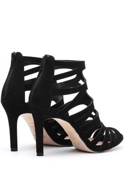 Unisa laser cut sandal high heel