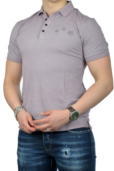 Antony morato polo t-shirt purple