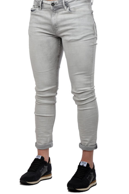 Pure white the jone grey jeans