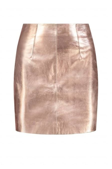 Nikkie by nikkie mazie skirt skin metallic