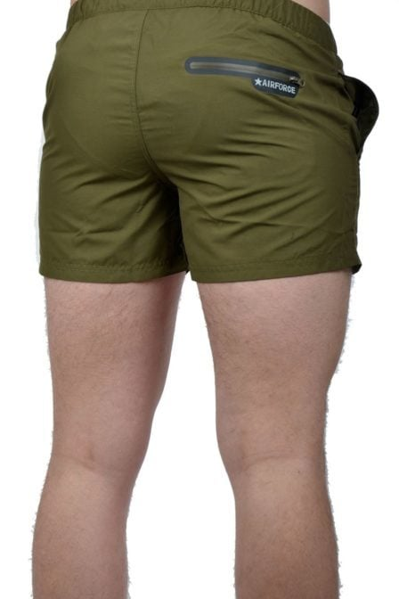 Airforce swimshort dark green