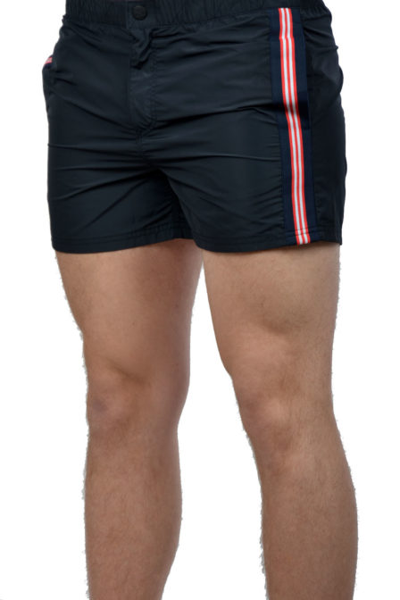 Airforce swimshort tape dark navy