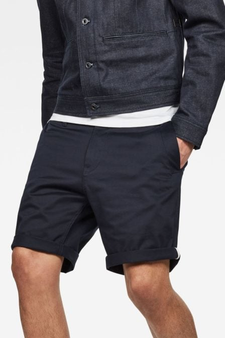 G-star raw bronson 1/2-length short mazarine blue