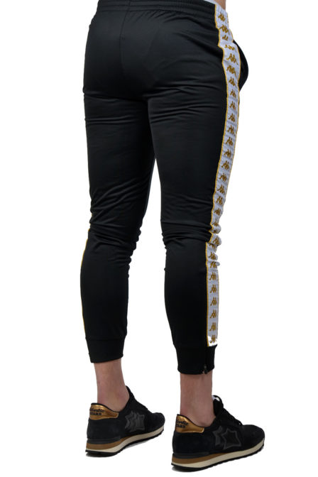 Kappa rastoria jogging black/gold