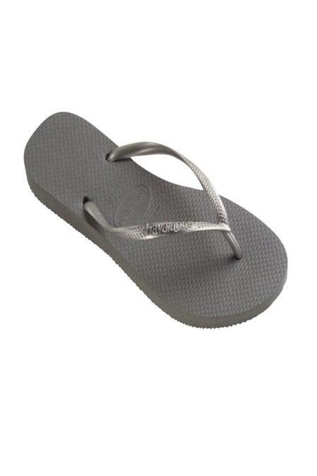 Havaianas slim slippers steel grey