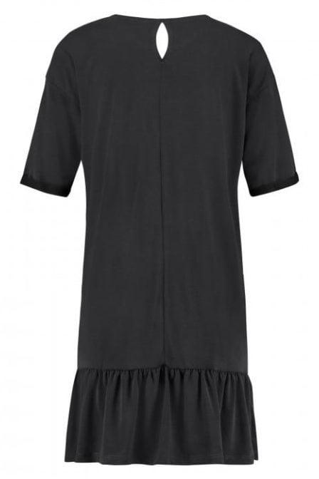 Catwalk junkie frills dress dark grey