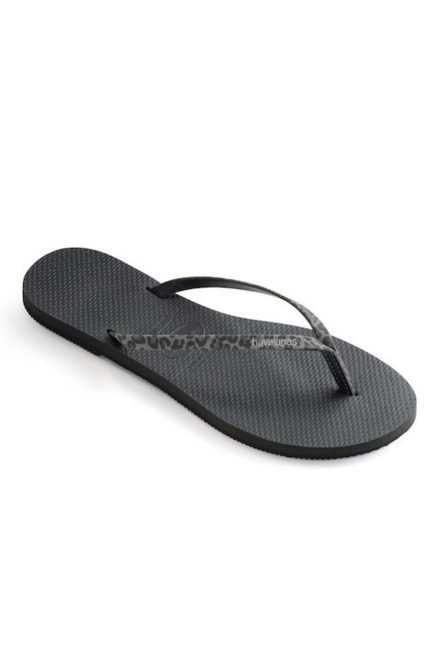Havaianas you animals slippers black