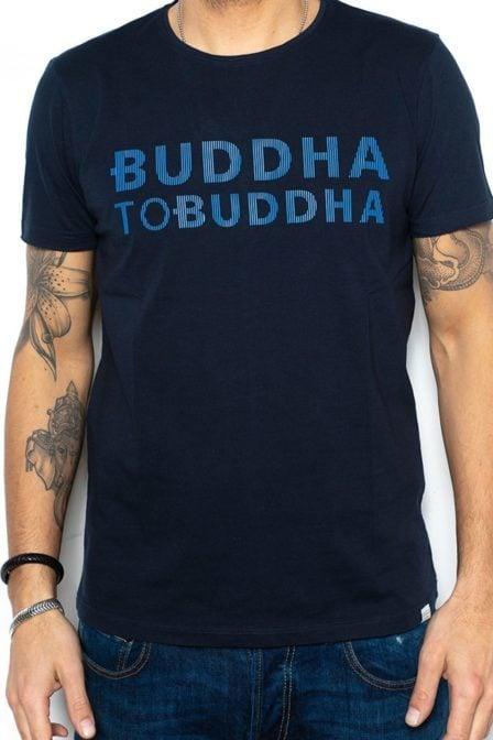 Buddha to buddha gino t-shirt navy