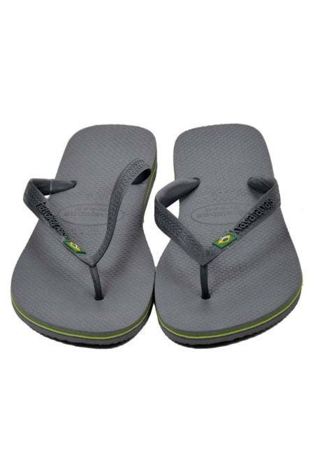 Havaianas brasil slippers grey