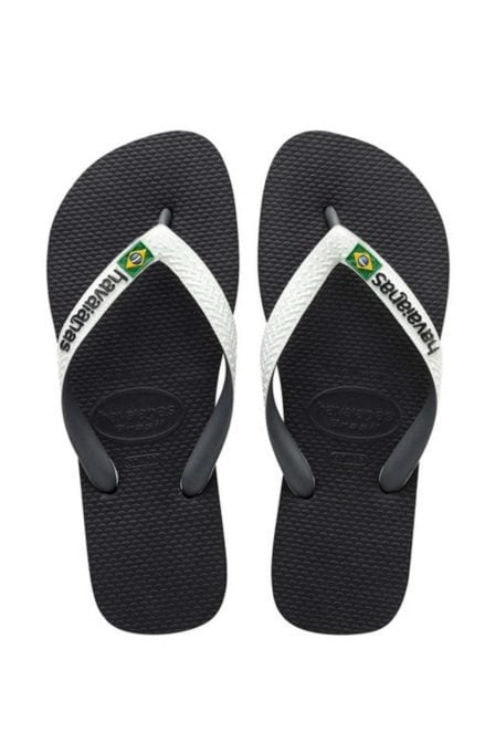 Havaianas brasil slippers black/white