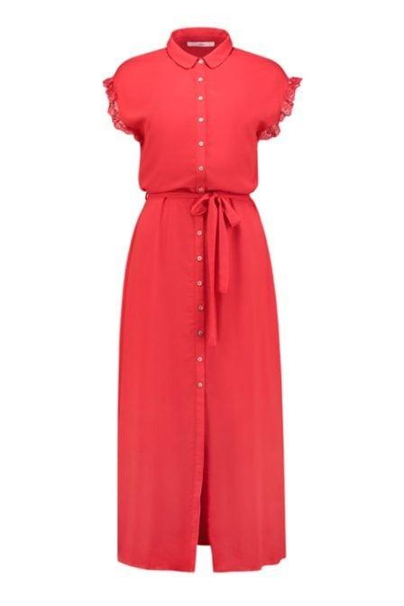 Aaiko nika maxi dress red