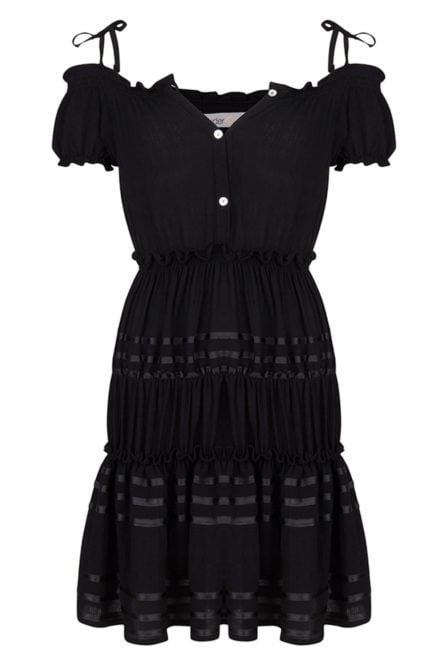 Wanderlust cochita dress black
