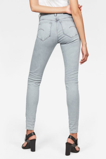 G-star raw shape high waist super skinny jeans