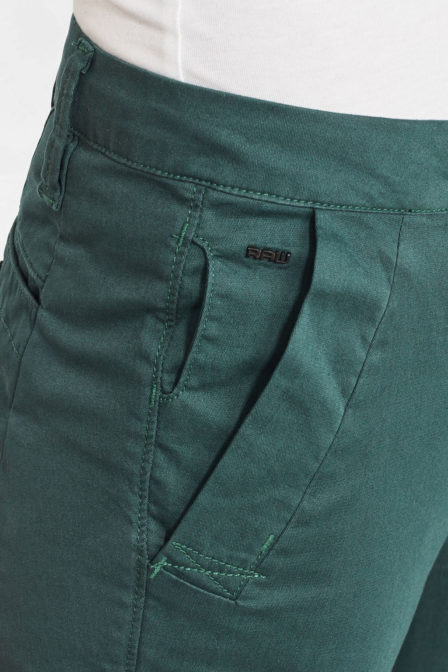 G-star raw mid waist skinny chino maple green