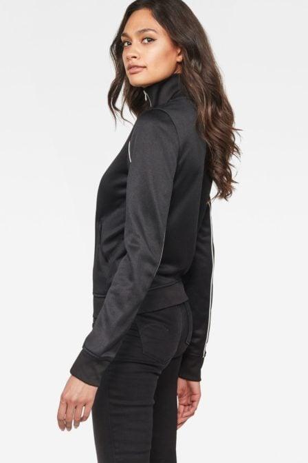 G-star raw lanc slim tracktop sweater black