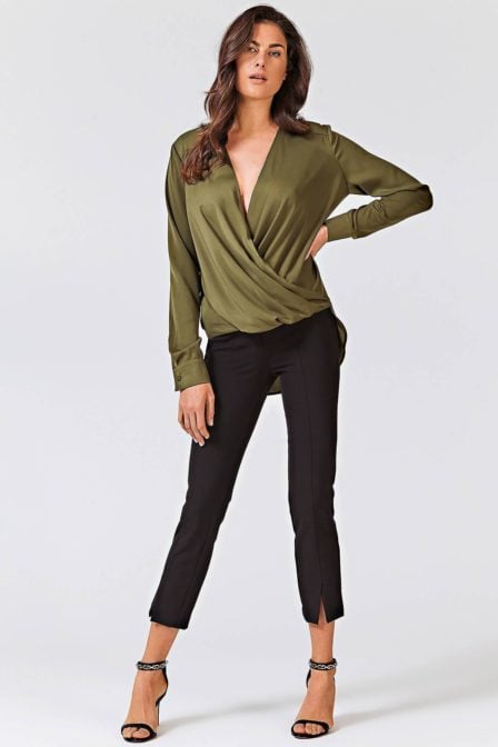 Guess malou top green