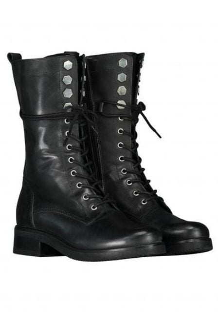 Nikkie hexagon army boots