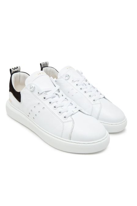 Nubikk scott calf white leather