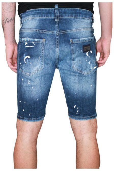 My brand vittore 011 speckled short jeans