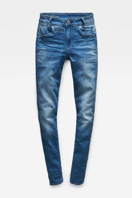 G-star raw d-staq 5-pocket mid waist skinny jeans