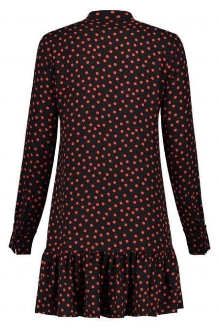 Nikkie by nikkie rush dress black/coral