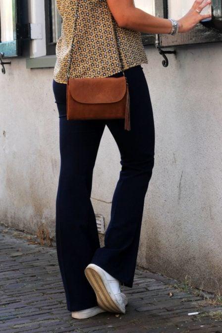 Rinascimento flair broek blauw