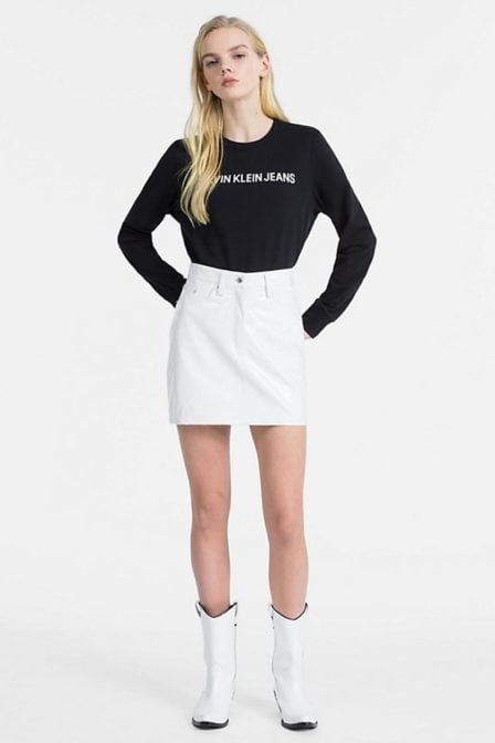 Calvin klein sweatshirt met logo black