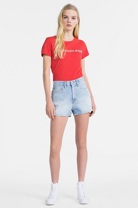 Calvin klein t-shirt met logo tomato