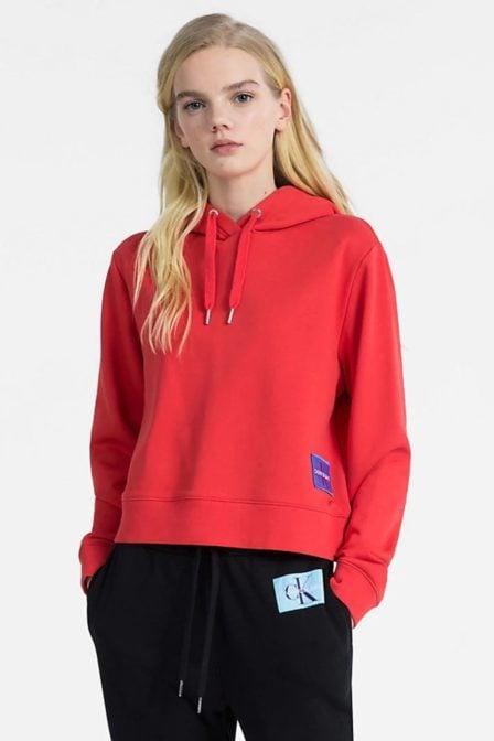 Calvin klein harrison-2 hoodie met logo tomato