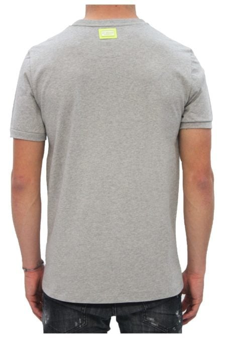 My brand logo branding t-shirt grey/yelllow