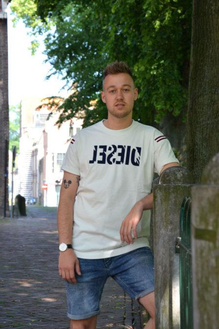 Diesel t-tryll t-shirt white
