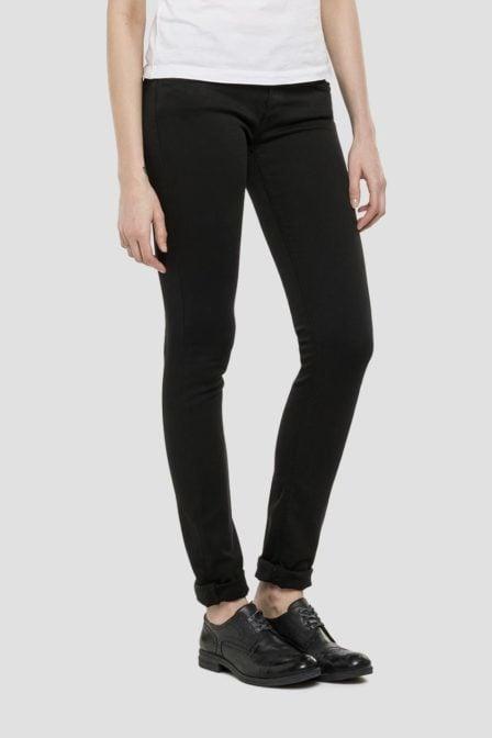 Replay luz hyperflex skinny jeans black