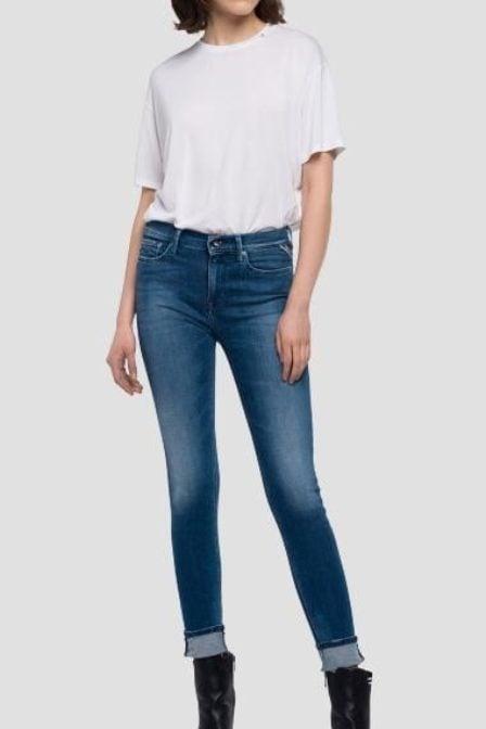 Replay jegging fit joi jeans medium dark