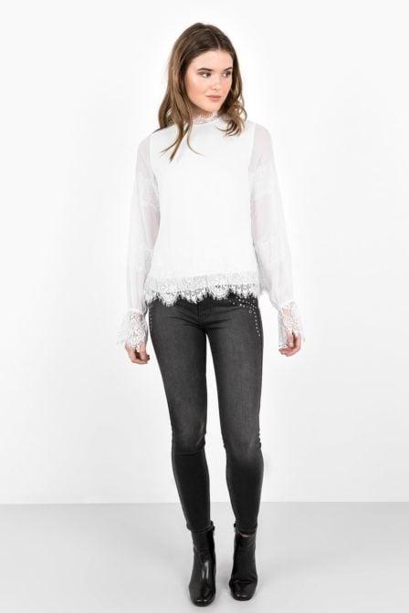 Tigha kimiko blouse off white