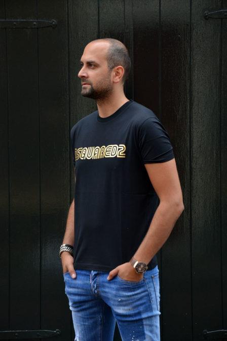 Dsquared t-shirt black