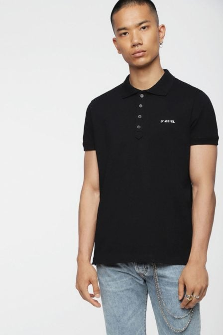 Diesel t-heal broken polo black
